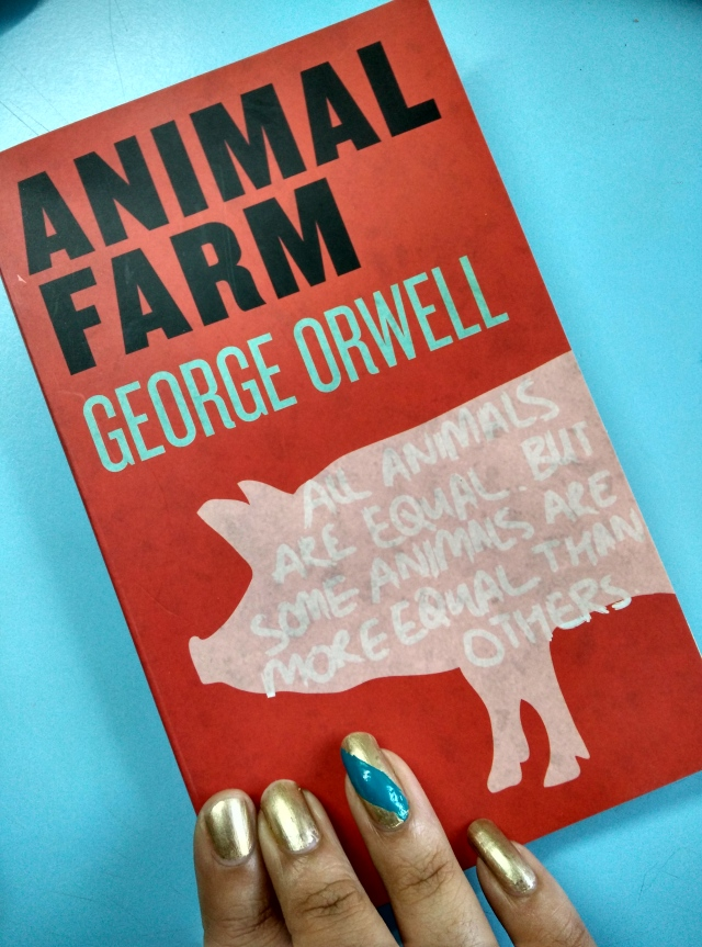 Animal Farm, by George Orwell.